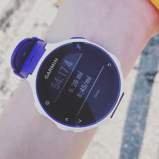 GPS watch time
