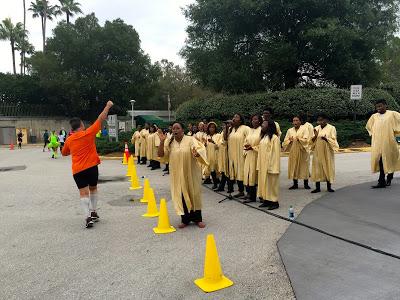 Marathon gospel choir