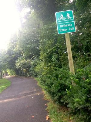 Bethesda Trolley Trail
