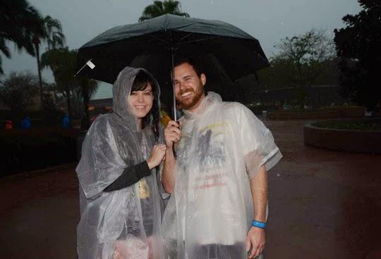 WDW in the rain