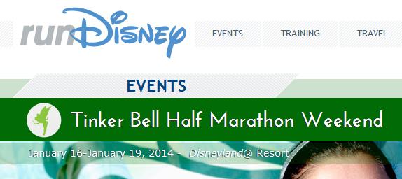 Tinker Bell Half