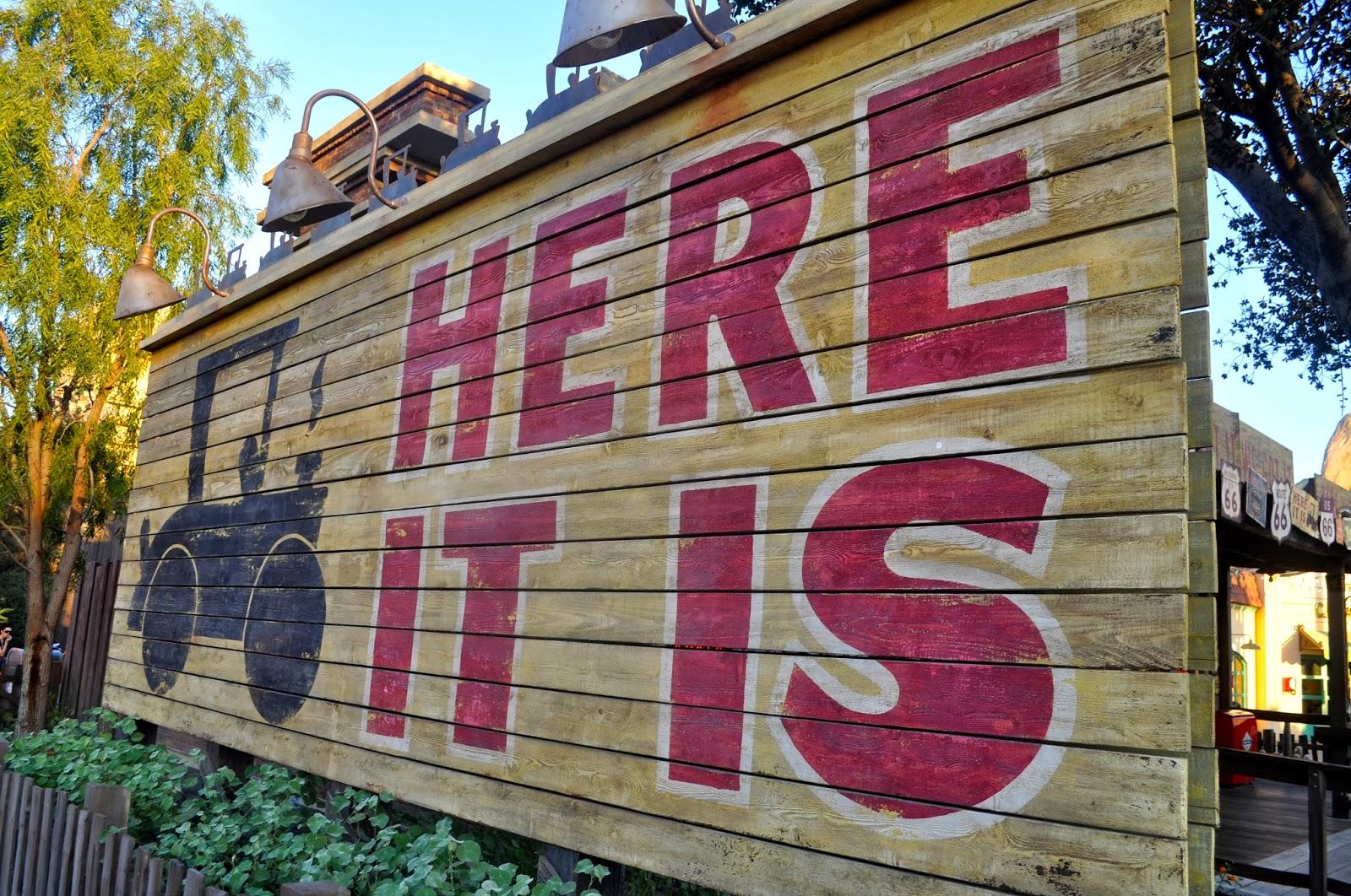 Disneyland trip report