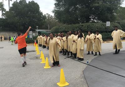 WDW Marathon gospel choir