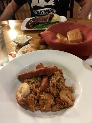 Port Orleans Riverside dining