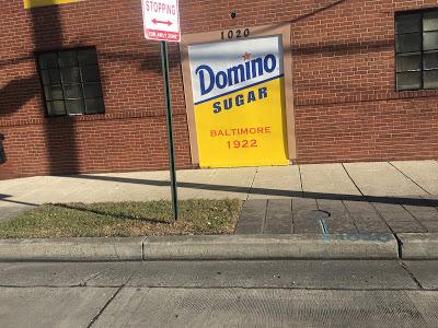 Baltimore Marathon Domino sugar