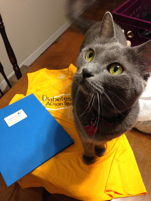 Ruffian approves of the Diabetes Action Team
