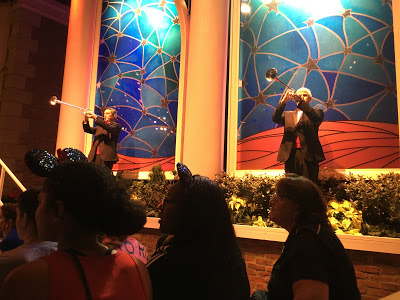 Candlelight Processional trumpeters
