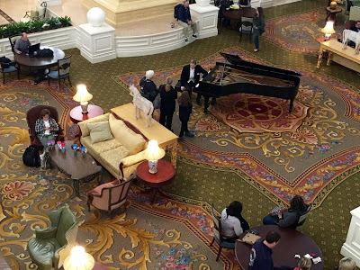 WDW trip report Grand Floridian lobby