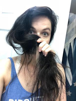 Jenn with long hair
