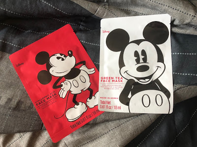Mickey Mouse sheet masks