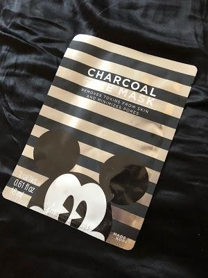 Mickey Mouse sheet mask