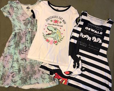 Universal Studios wardrobe