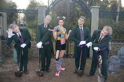 Haunted Mansion gravediggers, Nightmare Before Christmas