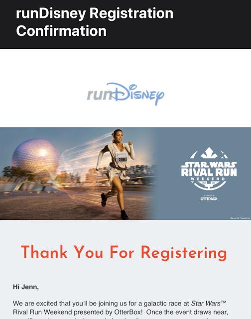 runDisney Star Wars Rival Run
