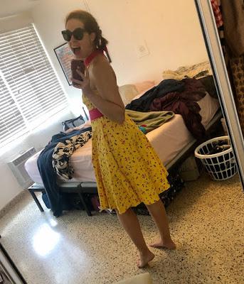Disney dress shop flamingo dress