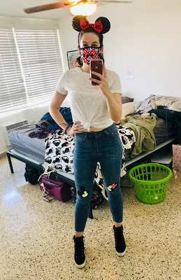 Me in Mickey jeans