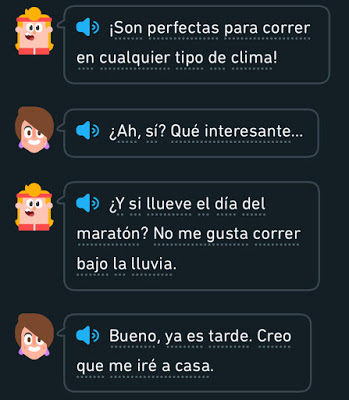 DuoLingo Spanish running story