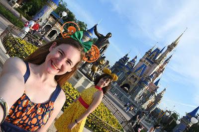 Magic Kingdom hub photo