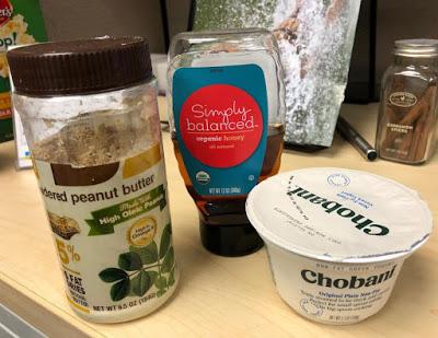 Peanut butter yogurt