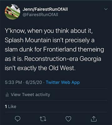 Splash Mountain discourse