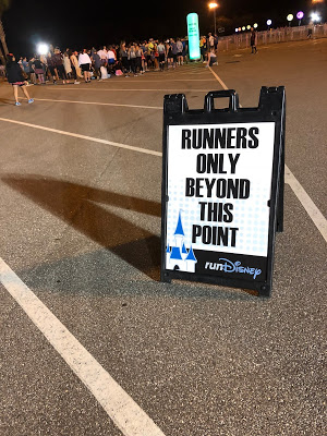 Runners only beyond this point