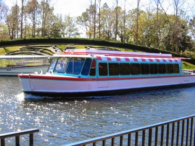 WDW boat transportation