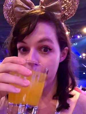 POG juice with rum at Epcot World Showcase