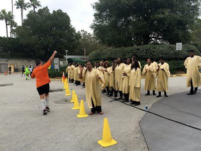 Gospel choir at WDW Marathon