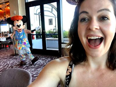 Mickey at Topolino's Terrace