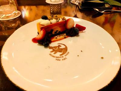 Tiffins Lion King dessert
