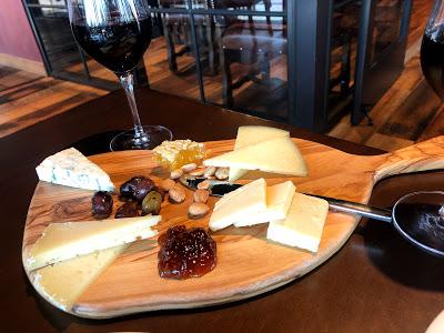 Wine Bar George cheese board