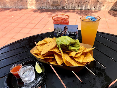 Guac on The Rock