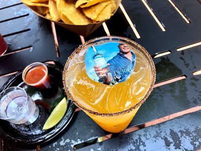 Guac on The Rock at La Cava del Tequila