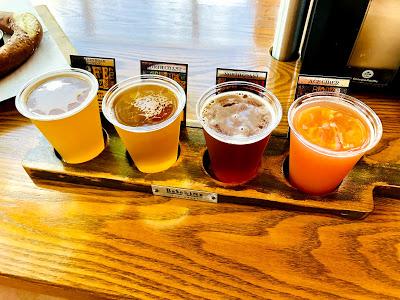 BaseLine beer flight