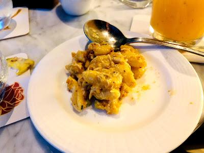 Crab mac & cheese at Enchanted Rose