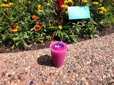 Desert violet lemonade