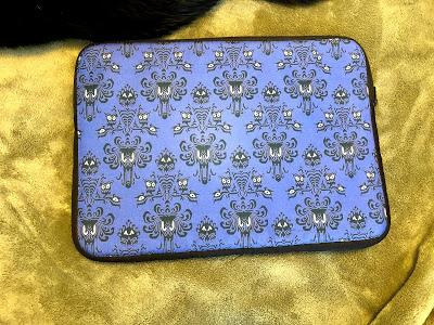 Haunted Mansion laptop sleeve