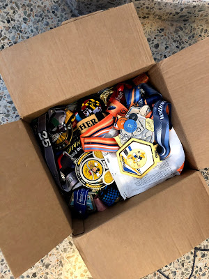 Medals in a box
