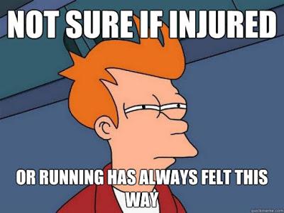 Not sure if injured