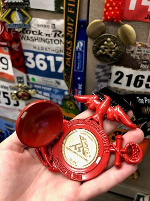 Marine Corps Marathon medal