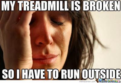 Treadmill broken