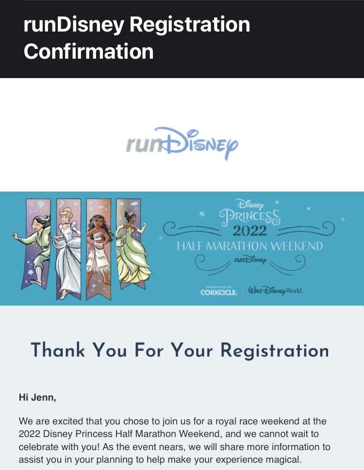 runDisney Princess Half Marathon